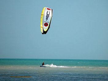 Kitesurfen 1